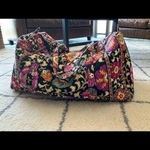 Large Vera Bradley Travel Duffel Bag